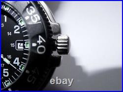 43mm Luminox Navy Seals Series 3100 Steel Case Screwdown Crown 200M Dive Watch