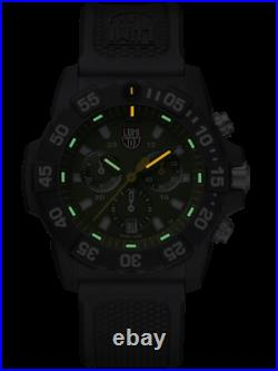 AUTHORIZED DEALER Luminox 3597 Navy SEAL Chronograph Green Dial 45mm Watch