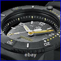 AUTHORIZED DEALER Luminox 3601 Navy Seal Black Rubber Strap 45mm Case Watch