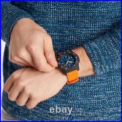AUTHORIZED DEALER Luminox 3603 Luminox Navy Seal 45mm Blue Dial Orange Watch