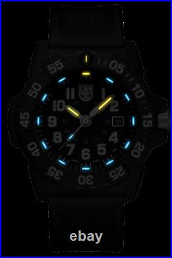 Authorized Dealer Luminox 3503. Nsf Navy Seal Blue Dial Rubber Limited Watch