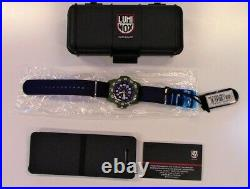 Brand New Luminox Navy Seal Canvas Band Blue Dial Model XS. 3503. ND Men's Watch