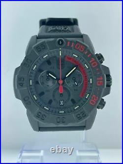 Brand New Unworn Men's Luminox Navy SEAL Chronograph Diver's 45mm Watch 3581. EY