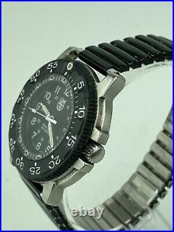 Clean 42.9 mm Men's Luminox Navy Seals 3100 Series Swiss 200M Military Watch