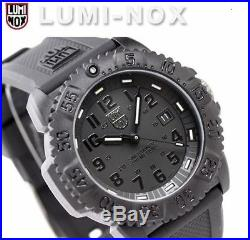 EMS! Luminox Colormark Navy Seals 3051 BO Blackout Sports Divers Watch NEW EMS