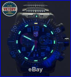 Factory New LUMINOX ANU (Authorized for Navy Use) Chronograph 4242