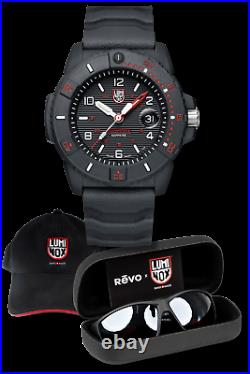 Genuine Luminox REVO x LUMINOX Set Navy SEAL 3615 Watch + Sunglasses