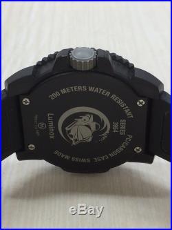 LUMINOX 3954 Quartz Analog Rubber navy blue and black EXCHANGE #14C0 VERYGOOD Wr