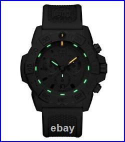 LUMINOX Navy SEAL Chronograph Militäruhr XS. 3581. EY Taucheruhr Herren