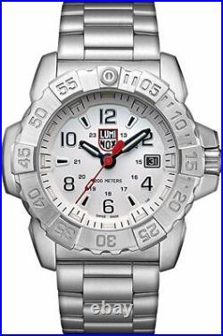LUMINOX Navy SEAL Steel 45MM Stainless Steel Men's Watch XS. 3258