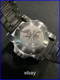 LUMINOX Navy SEAL Steel 45MM Stainless Steel XS. 3258 EXCELLENT