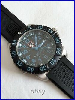 LUMINOX Navy Seal 3153 Stainless Steel 45mm Swiss Made Quartz Watch