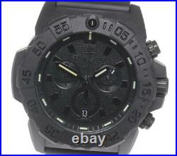 LUMINOX Navy Seal 3581. BO Chronograph black Dial Quartz Men's Watch 608277