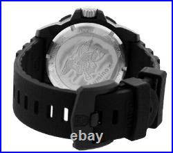 LUMINOX Navy Seal 45MM Black Dial Rubber Strap Men's Watch XS. 3601