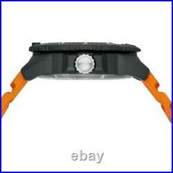 LUMINOX Navy Seal 45MM Blue Dial Orange Strap Men's Watch XS. 3603 $495.00
