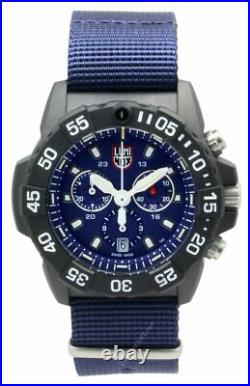 LUMINOX Navy Seal 45MM Chronograph Blue Dial Men's Watch XS. 3583. ND