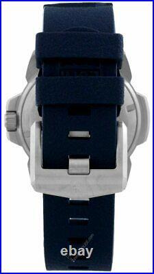 LUMINOX Navy Seal 45MM SS Blue Dial Rubber Strap Men's Watch XS. 3253