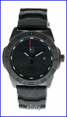 LUMINOX Navy Seal Black Silicone Band Black Dial Men's Watch XS. 3121. BO