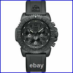 LUMINOX Navy Seal Colormark Chronograph Blackout Watch 3081. BO