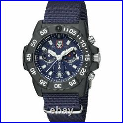 LUMINOX Navy Seal Colormark Chronograph Watch XS. 3583. ND Blue Canvas