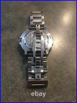 LUMINOX Navy Seals 200MM DIVER SWISS WATCH withDATE & AFTERMARKET BAND/MSRP $595