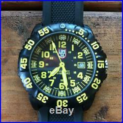 LUMINOX Navy Shields 3050/3950 Yellow WristWatch