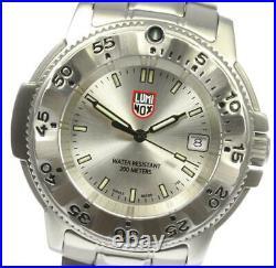 LUMINOX Navy seal 3200 series Silver Dial Quartz Men's Watch 577774