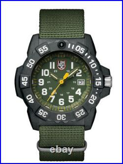 LUMINOX Original Navy SEAL Watch XS. 3517. NQ. SET Green