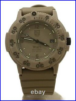 LUMINOX WTAPS NAVY SEALS3000 watch analog rubber quartz 3000 Series Men's Watch