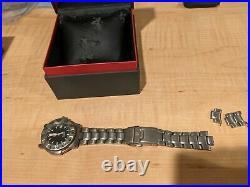 Lot of two Luminox Swiss Navy Seals Watches 3600 Titanium 200m