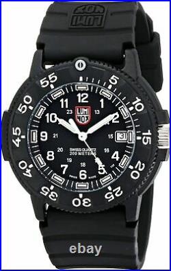 Luminox 3001 Black Dial Original Navy Seal Dive 43mm Carbon Case Men's Watch