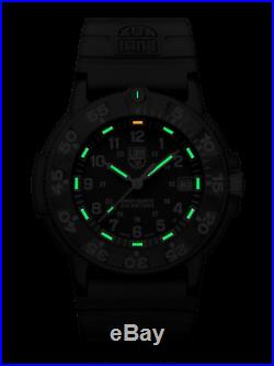 Luminox 3001 Series One Navy SEAL Dive Black Rubber 43mm Case Watch