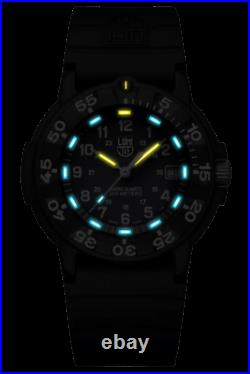 Luminox 3002. NSF LIMITED EDITION Men's Blue Dial Navy Seal Foundation Watch