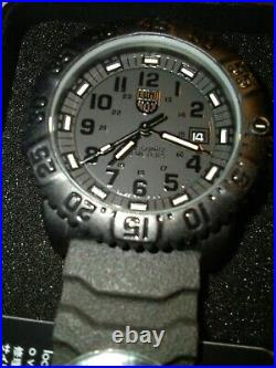 Luminox 3052. BO Navy SEAL Blackout Watch for Men with box and tag