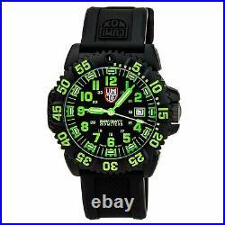Luminox 3067 Men's EVO Navy SEAL Colormark Black Strap Dive Watch