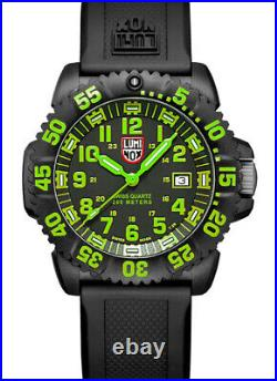 Luminox 3067 Navy Seal Black Dial Black Rubber Strap Men's Watch