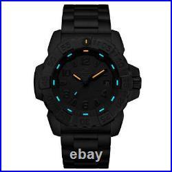 Luminox 3252. BO Navy Seal Steel 3250 Men's Black Steel Watch
