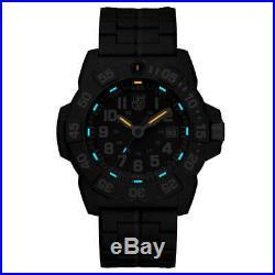 Luminox 3502 Men's Navy Seal 3500 Black Bracelet Swiss Dive Watch