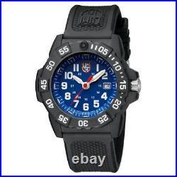 Luminox 3503 Men's Navy Seal 3500 Swiss Quartz Blue Dial Dive Watch