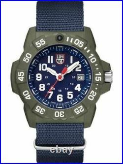 Luminox 3503. ND Men's Navy Seal Series Blue Face 45mm Nylon Strap Watch