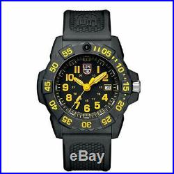 Luminox 3505 NAVY SEAL 3500 SERIES 45mm Black Rubber Strap Watch