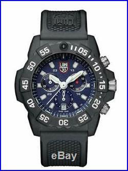 Luminox 3583 Men's Navy Seal Chronograph 45mm Rubber Strap Watch