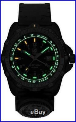 Luminox 8832. MI Mens Recon Navy SPC Black / Green PU Strap 46mm Case Watch