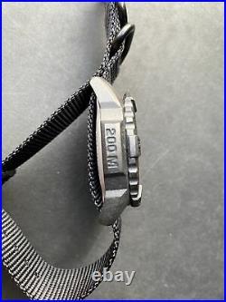 Luminox Black Dial Navy SEAL Blackout Watch XS. 3502. BO. L on Black NATO