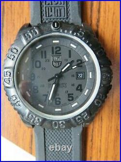 Luminox Colormark Navy Seals 3051 BO Blackout Sports Divers Watch