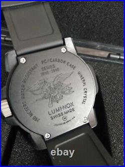 Luminox EVO Navy Seal Diver's Military Watch 3051/3950 Free shipping New Battery