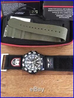 Luminox GGL. L 3051 Navy SEAL Colormark Mens 200m Military Dive Watch VGC RRP350