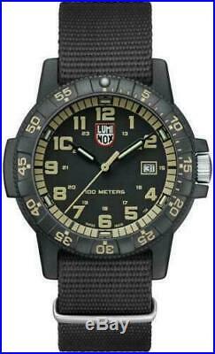 Luminox LEATHERBACK SEA TURTLE GAINT Black Dial NATO Band Men's Watch XS. 0333