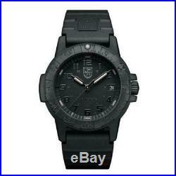 Luminox LEATHERBACK SEA TURTLE Gaint Black Dial Rubber Band Men Watch XS. 0321. BO