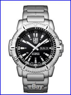 Luminox MODERN MARINER AUTOMATIC Stainless Steel Black Dial Men's Watch XS. 6502